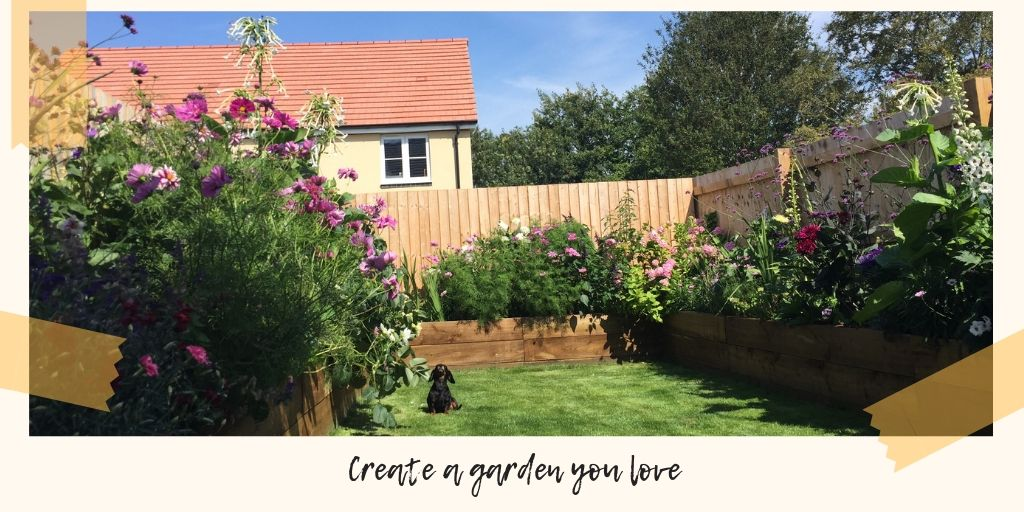 Creating a garden you love