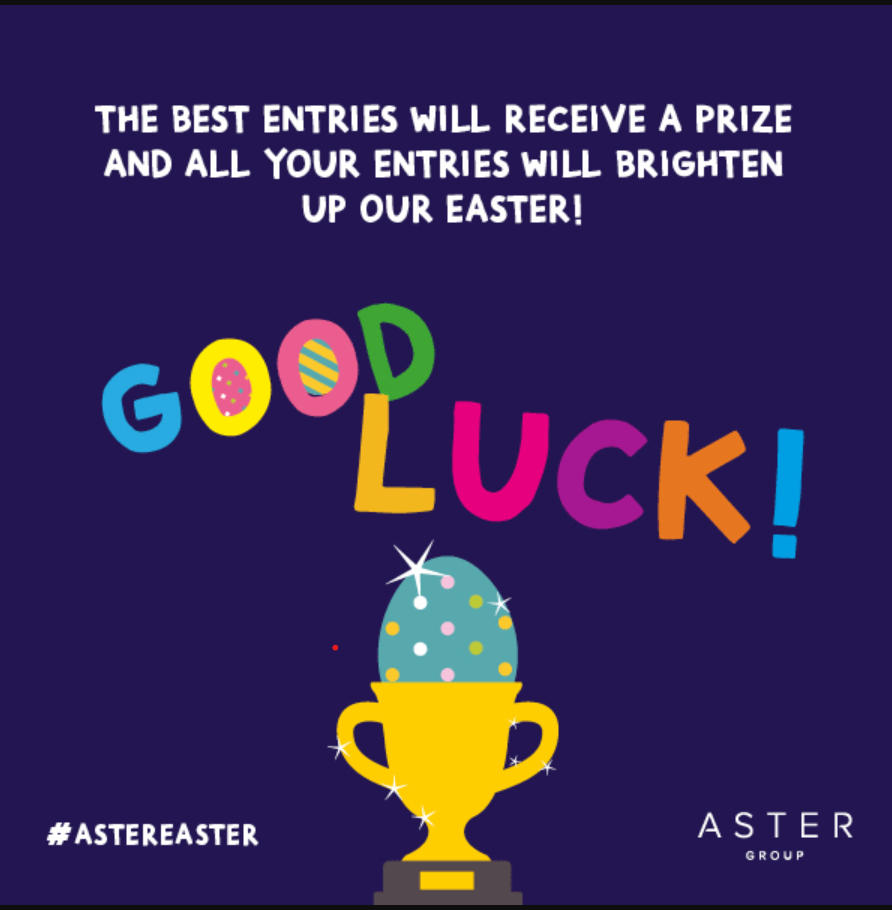 #AsterEaster Competition Time!